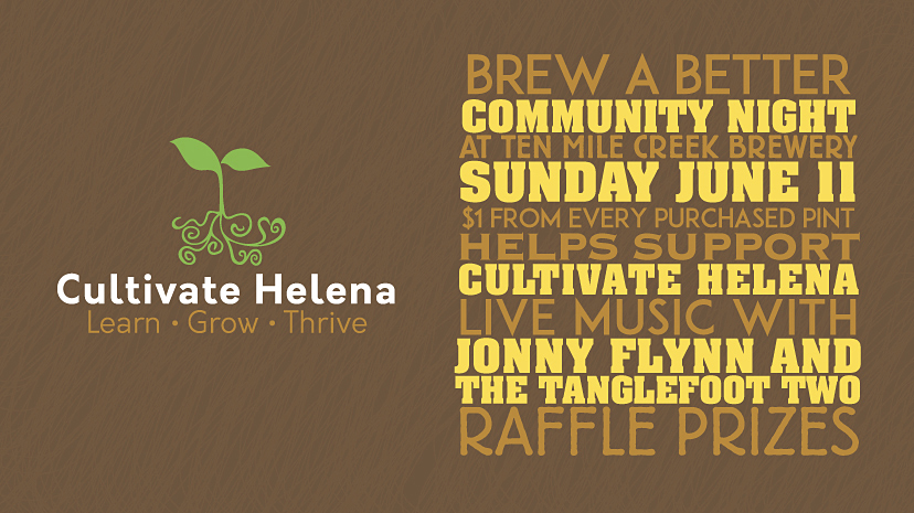 Brew A Better Community Night at Ten Mile Creek Brewery